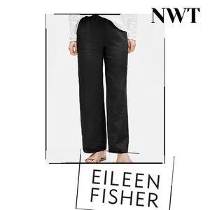 "EILEEN FISHER Summer Linen ""Granito Luxe Trouser"""